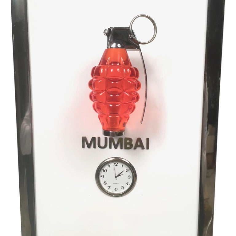 Modern Pow Time Zones by Mauro Perucchetti, Hip Pop Art Sculpture, 2013 For Sale