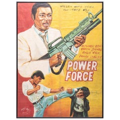 """""""Power Force"""" Ghanaian Movie Poster"""