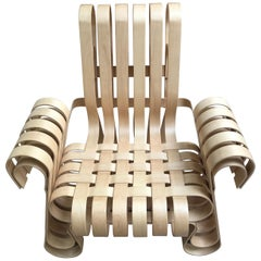 """Power Play"" Armchair by Franck Gehry, 1990"