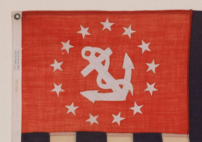 American Power Squadrons Ensign, Made by Annin in New York City For Sale