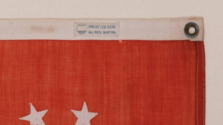 Early 20th Century Power Squadrons Ensign, Made by Annin in New York City For Sale