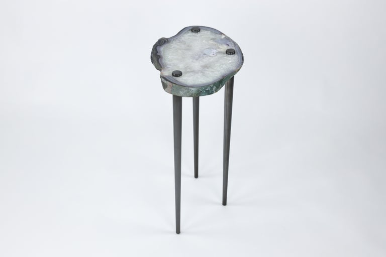 'Powers of 10' Cocktail Tables, Set of 2 by Christopher Kreiling In Good Condition For Sale In Pasadena, CA