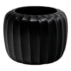 Pozzo Vase Black