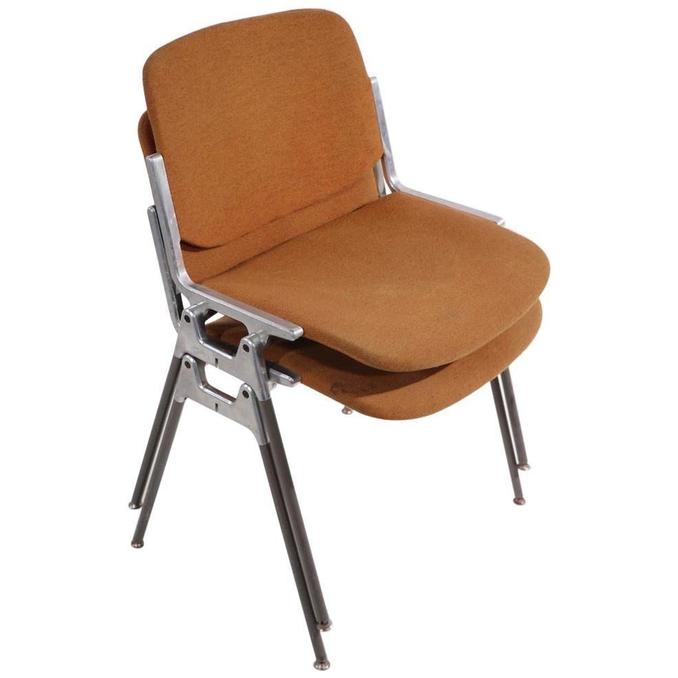 Pr. Giancarlo Piretti for Castelli DSC 106 Chairs