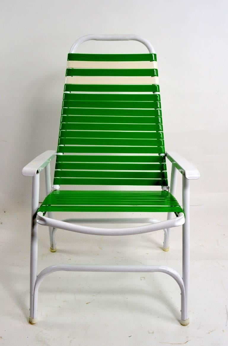 Bright And Cheerful Folding Lawn, Poolside, Garden Chairs, By The Telescope  Chair Company