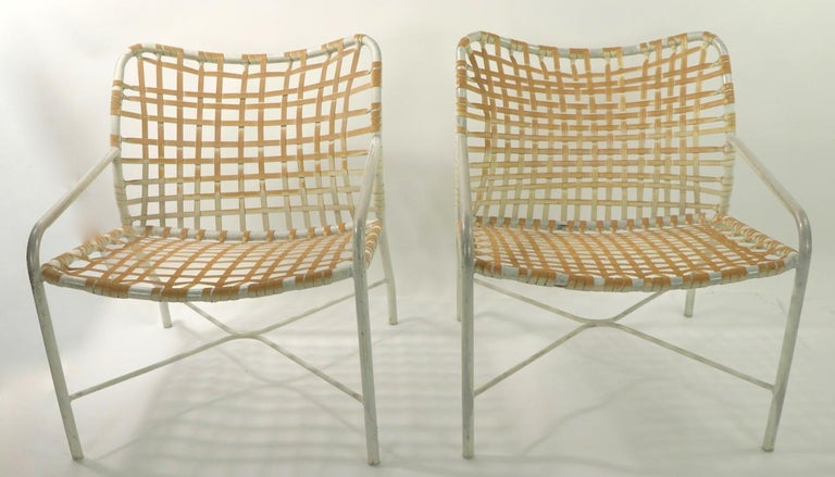 Pr. Lounge Chairs by Tadao  Inouye for Brown Jordan 9