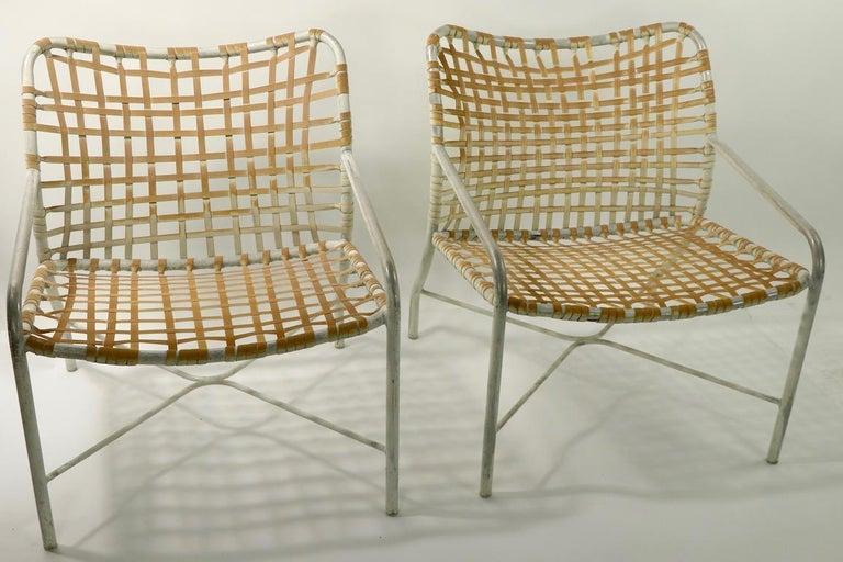 Pr. Lounge Chairs by Tadao  Inouye for Brown Jordan 10