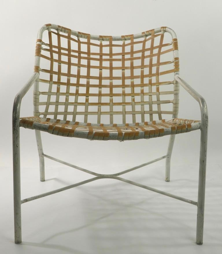 Pr. Lounge Chairs by Tadao  Inouye for Brown Jordan In Fair Condition In New York, NY