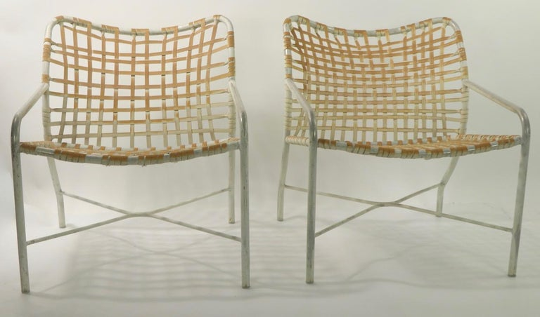 Aluminum Pr. Lounge Chairs by Tadao  Inouye for Brown Jordan