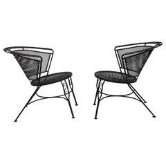 Pr. Lounge Dining Patio Garden Chairs att. to Salterini