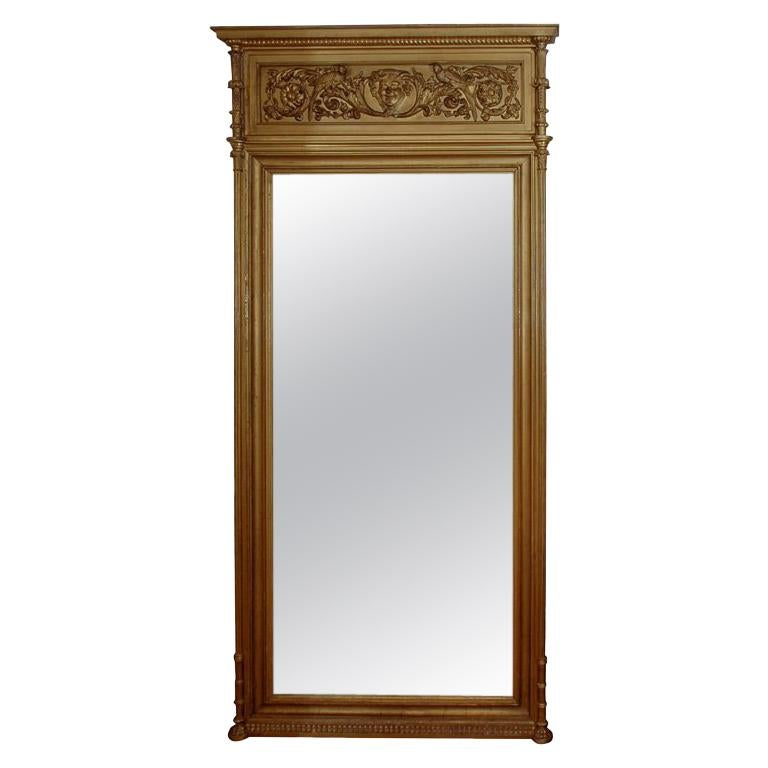 Pr of large early 19th Century Mirrors