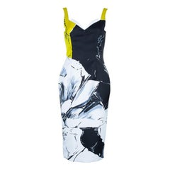 Prabal Gurung Floral Printed Bustier Dress S