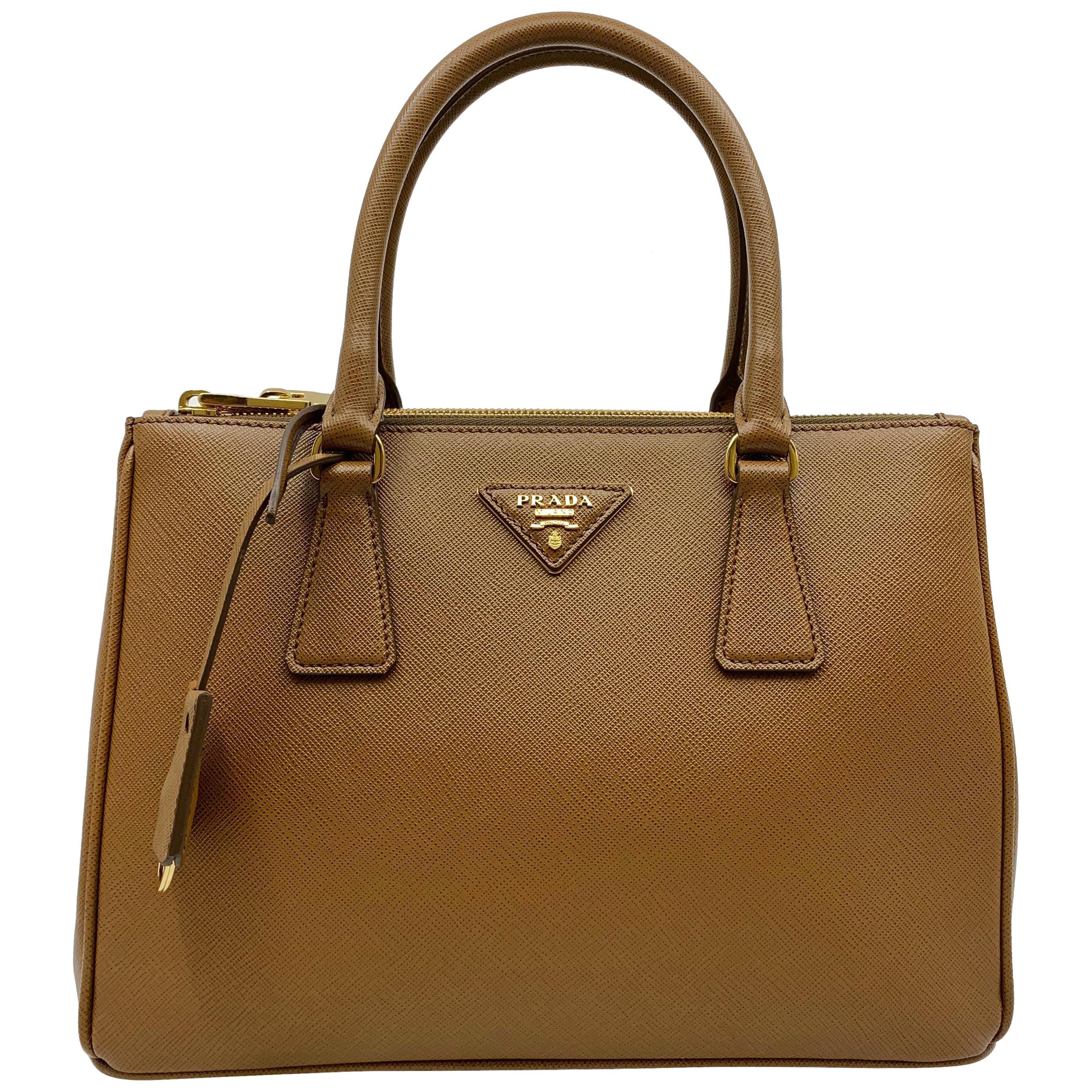 870ede66c39b1e Prada Orange Nylon Crossbody Bag at 1stdibs