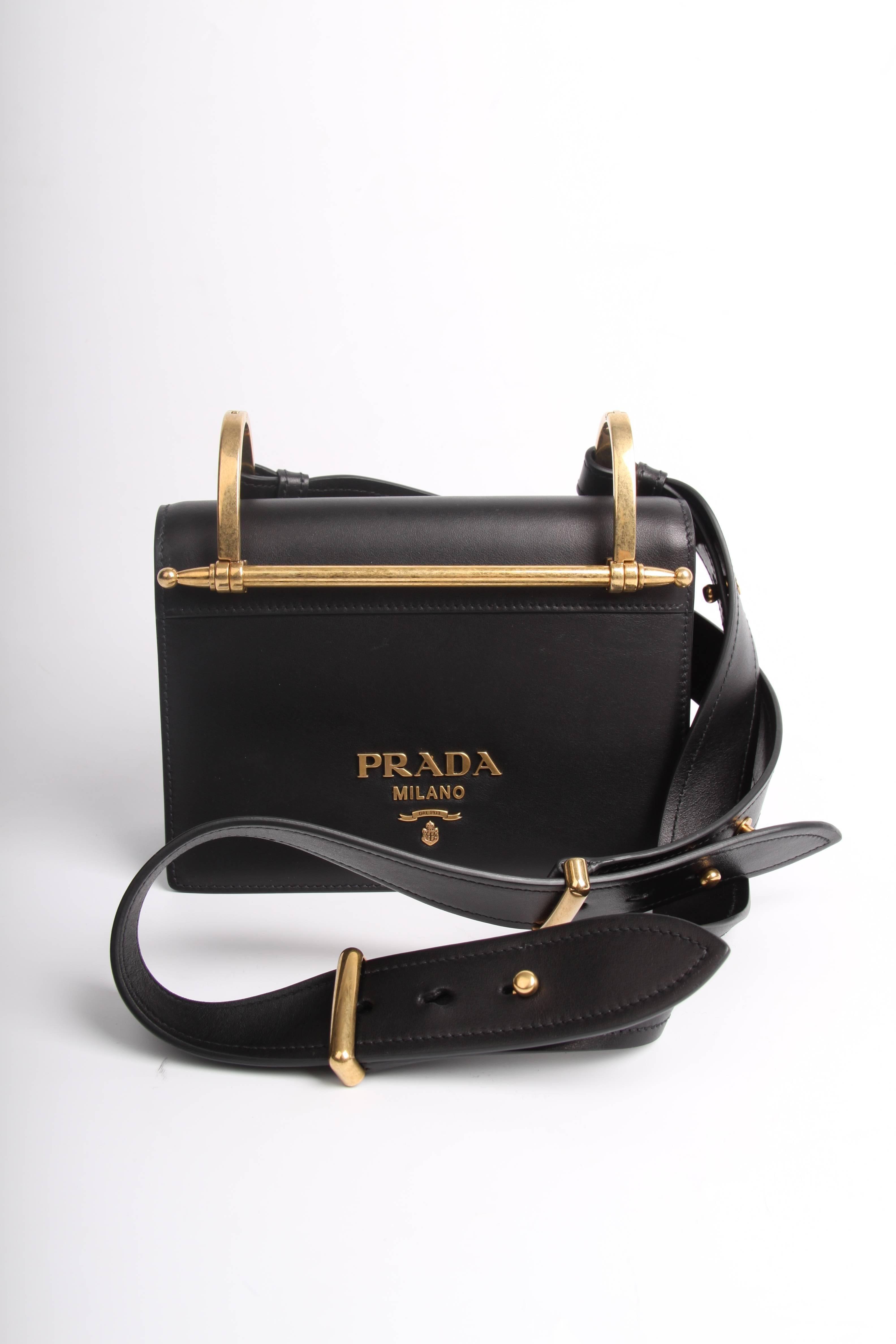 Prada Antic Soft Shoulder Bag - black 2018 For Sale at 1stdibs 5bffdf1139716