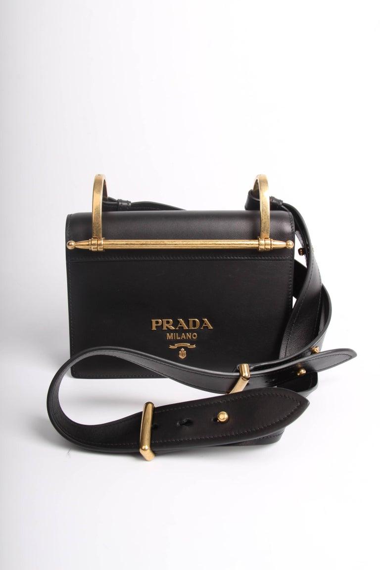 508888024ed1 Prada Antic Soft Shoulder Bag - black 2018 For Sale at 1stdibs
