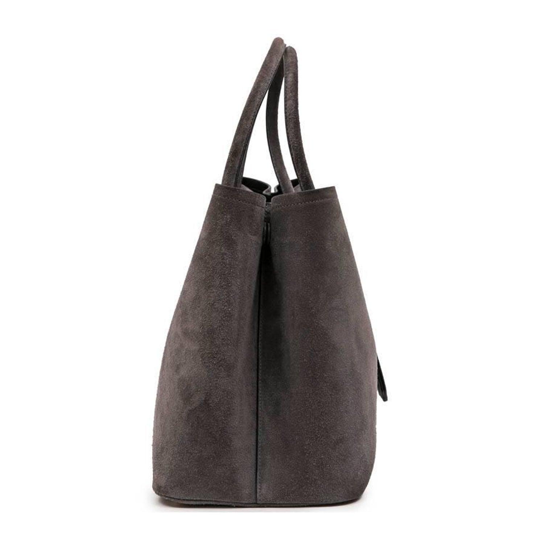 31a3a8a4d8 PRADA Bag in Pearly Gray Velvet Calfskin at 1stdibs