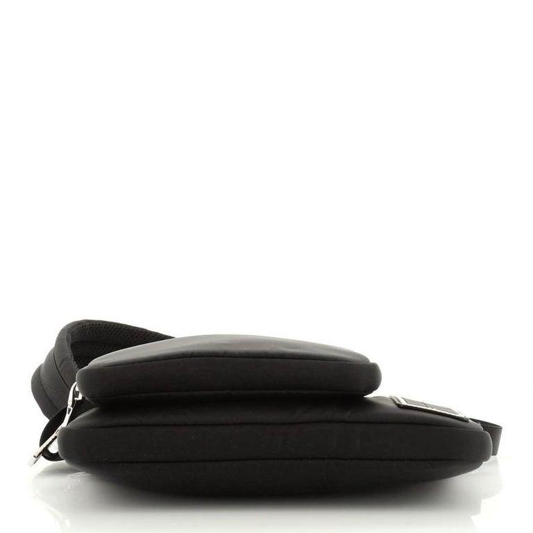 Prada Bandoleer Shoulder Bag Tessuto Medium For Sale 1