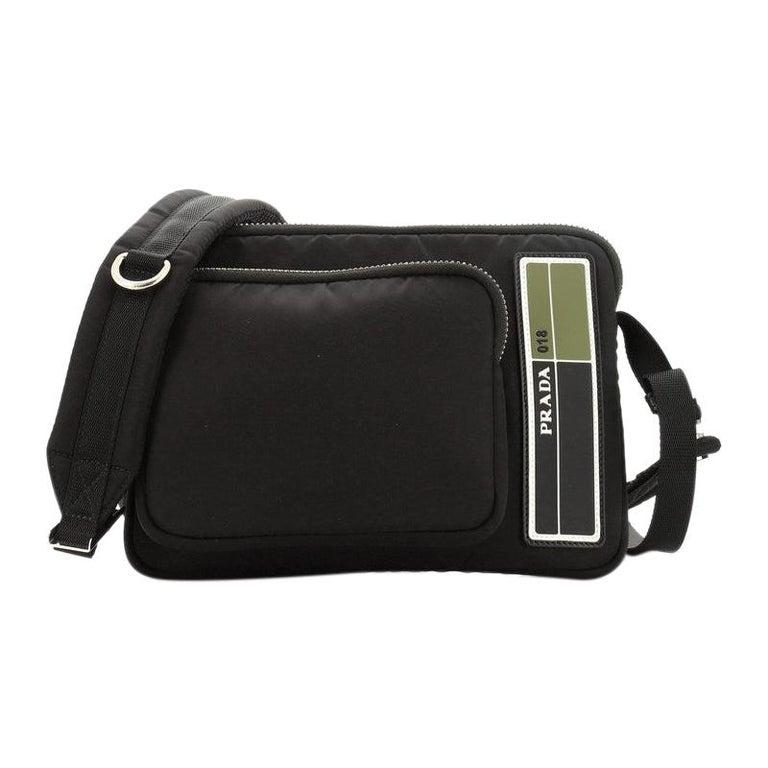 Prada Bandoleer Shoulder Bag Tessuto Medium For Sale