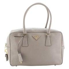 Prada Bauletto Bag Saffiano Leather Medium