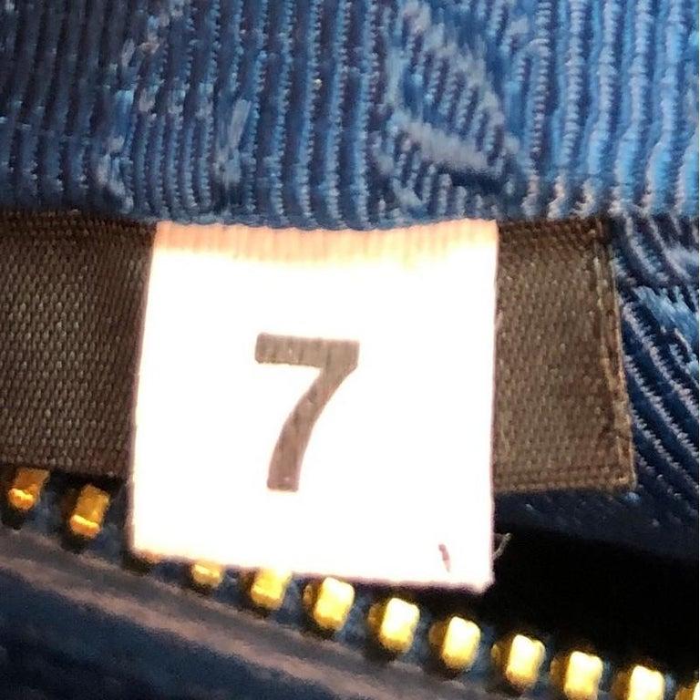 Prada Bauletto Bag Saffiano Leather Small For Sale 6