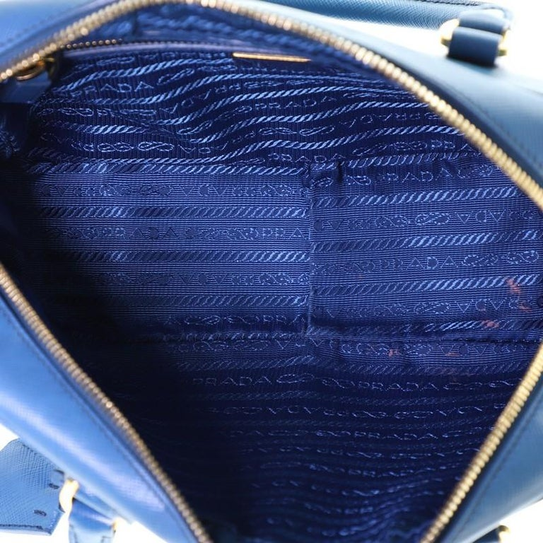 Prada Bauletto Bag Saffiano Leather Small For Sale 1