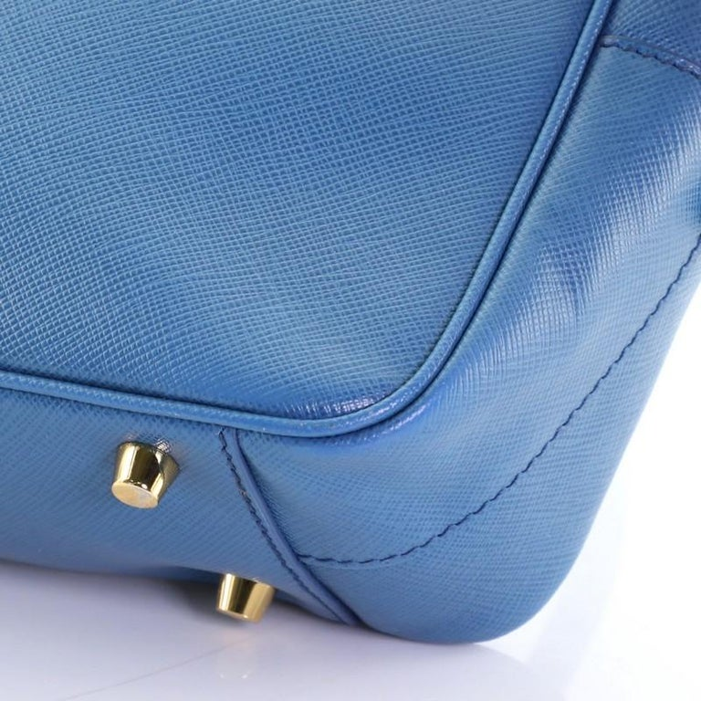 Prada Bauletto Bag Saffiano Leather Small For Sale 2