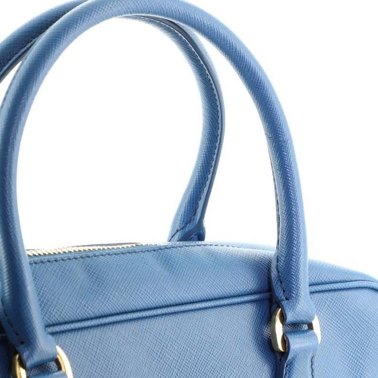 Prada Bauletto Bag Saffiano Leather Small For Sale 3