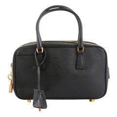 Prada Bauletto Bag Saffiano Leather Small