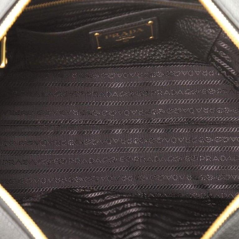 Prada Bauletto Bag Vitello Daino Medium For Sale 1