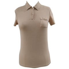 Prada beige cotton t-shirt