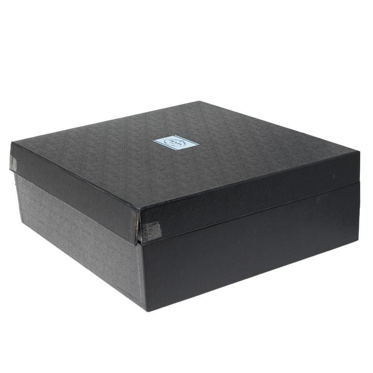 Prada Beige Saffiano Lux Leather Medium Double Zip Tote For Sale 9