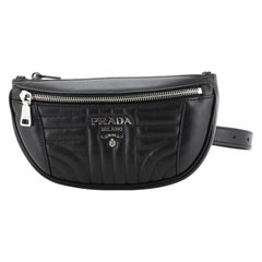 Prada Belt Bag Diagramme Quilted Leather Small