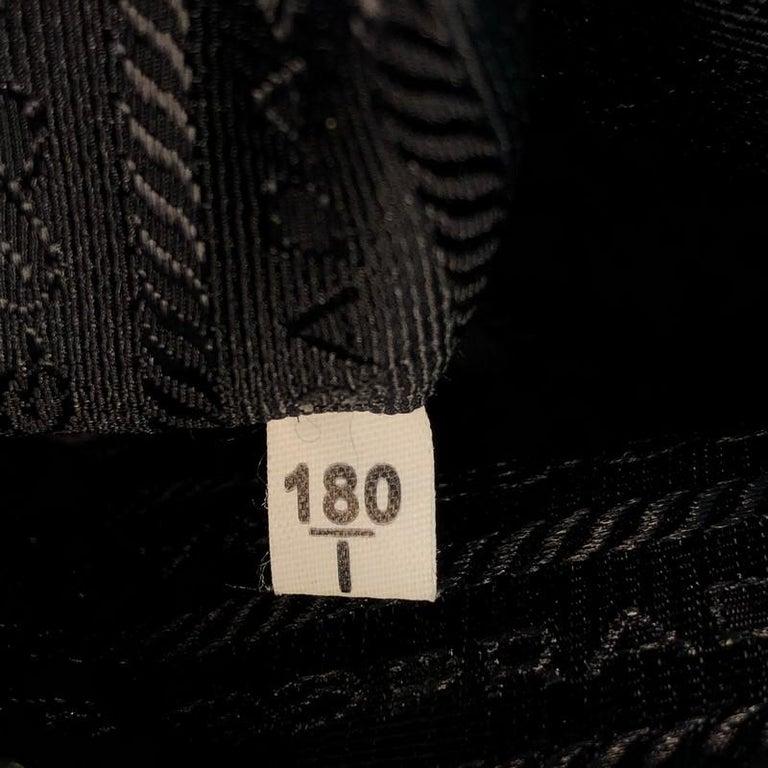 Prada Belted Hobo Stitched City Calf Medium For Sale 6