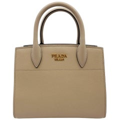 Prada Bibliotheque Cameo Small Leather Womens Bag 1BA0712EVU