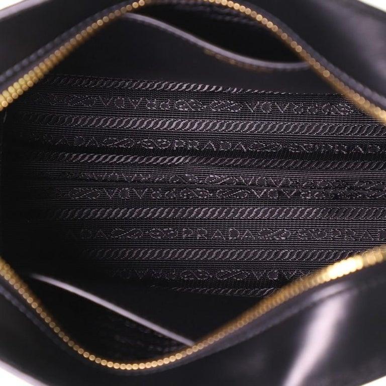 Prada Bibliotheque Crossbody Saffiano Leather For Sale 1