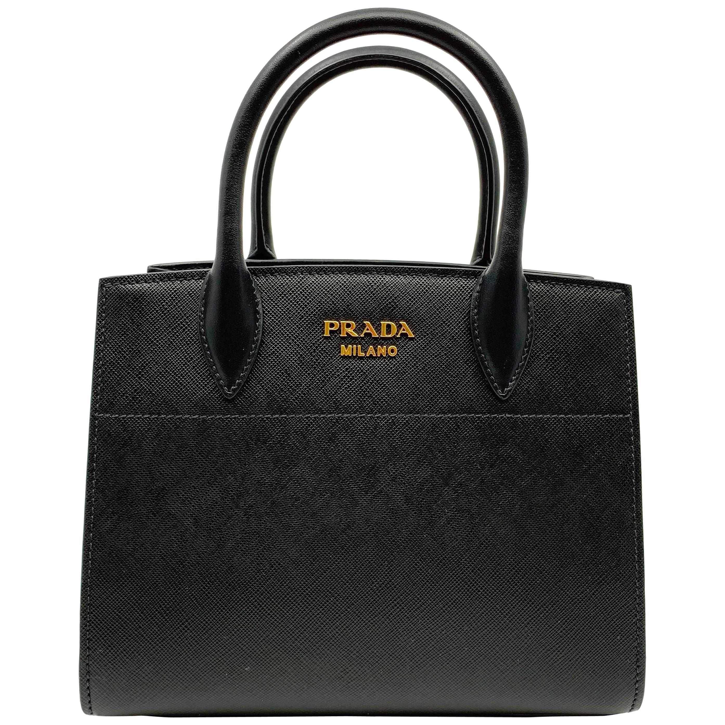 f5e9191802c8 Prada Leather and Exotic Skin Cross-Body Bag For Sale at 1stdibs