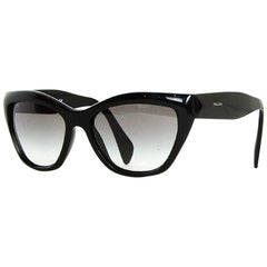 Prada Black Acetate Sunglasses