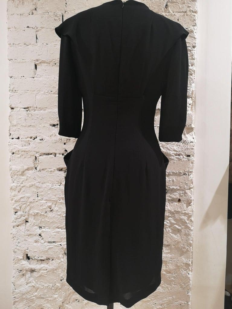 Prada black dress For Sale 5