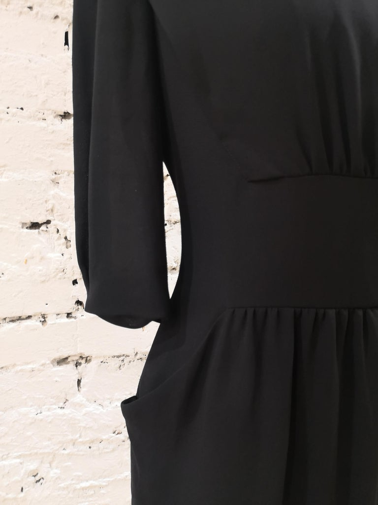 Women's Prada black dress For Sale