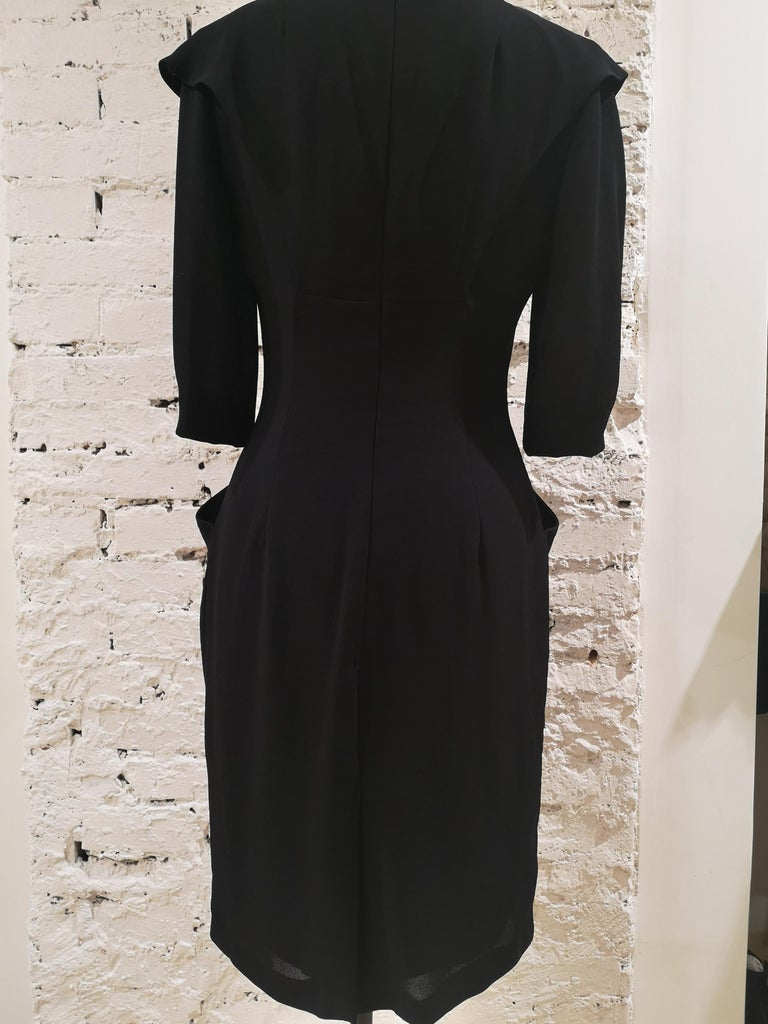 Prada black dress For Sale 4
