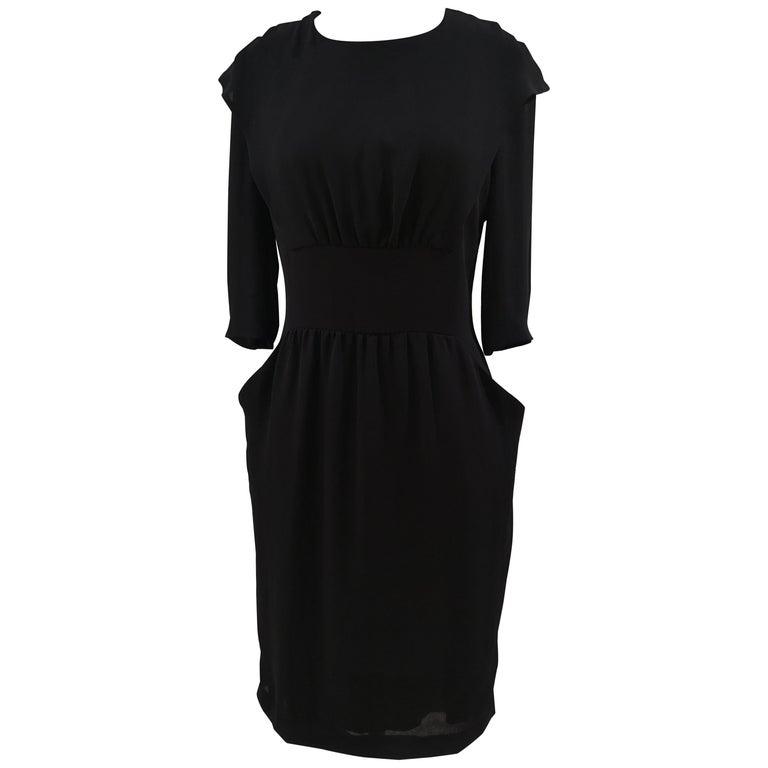 Prada black dress For Sale