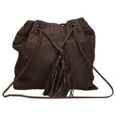 Prada Black Nylon Fabric Crossbody Bag Italy