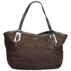 Prada Black Nylon Fabric Shoulder Bag Italy w/ Dust BagAuthenticity Card