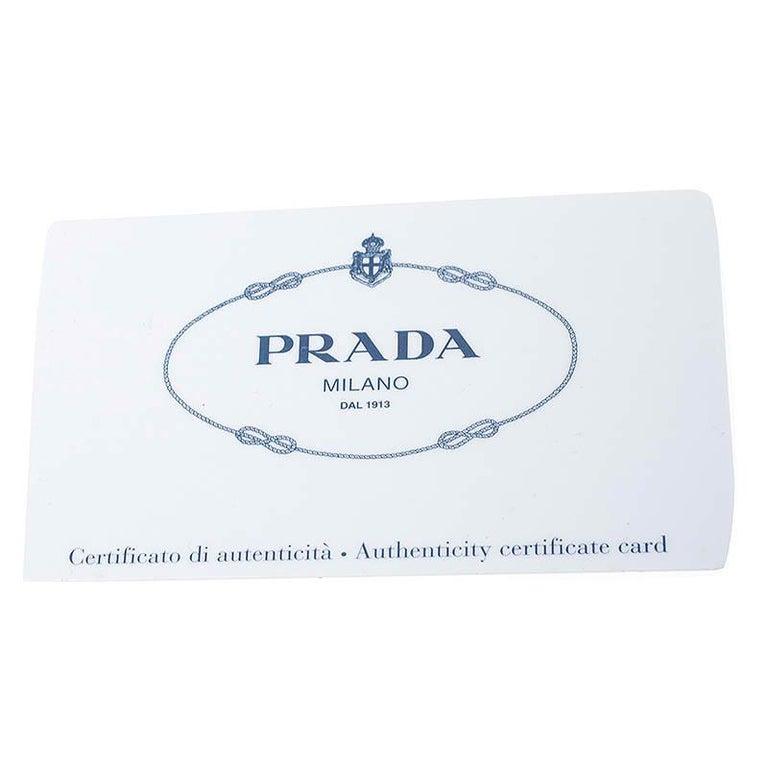 Prada Black Patent Leather Vernic Shopper Tote For Sale 5
