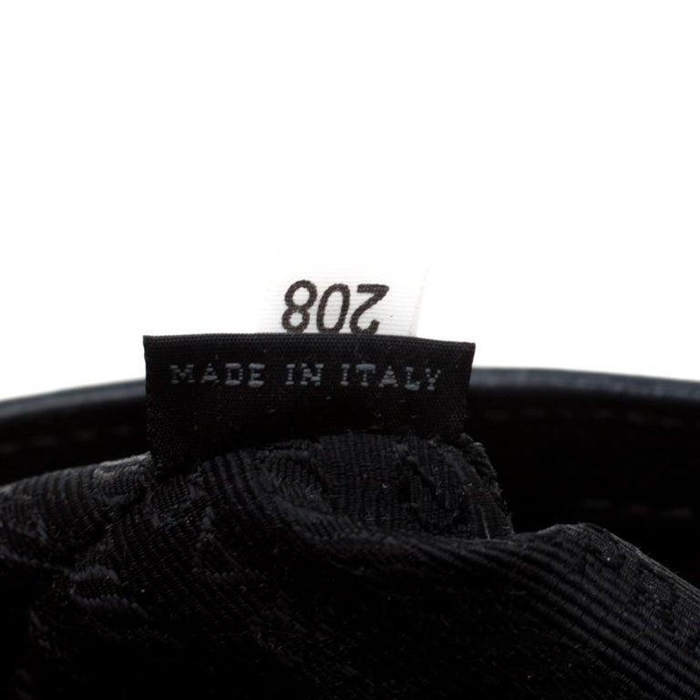 Prada Black Saffiano Lux Leather Large Gardener's Tote 2