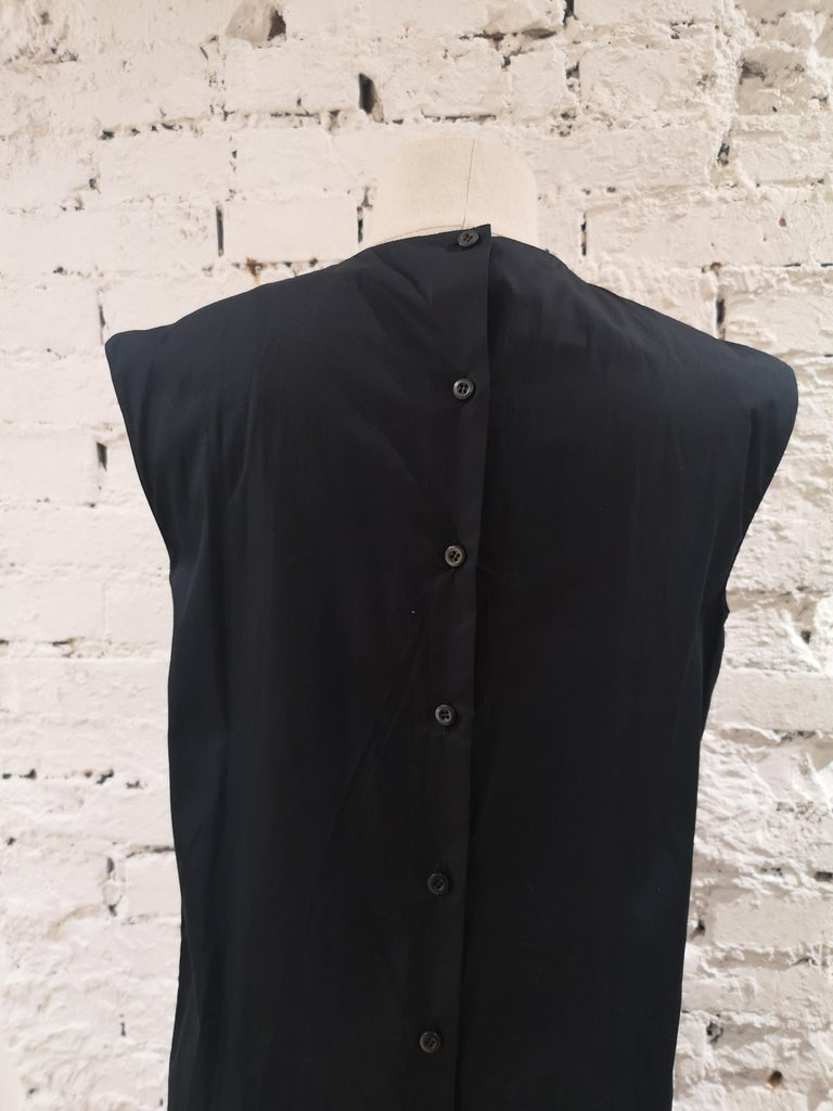 Prada Black Sangallo NWOT Dress For Sale 4