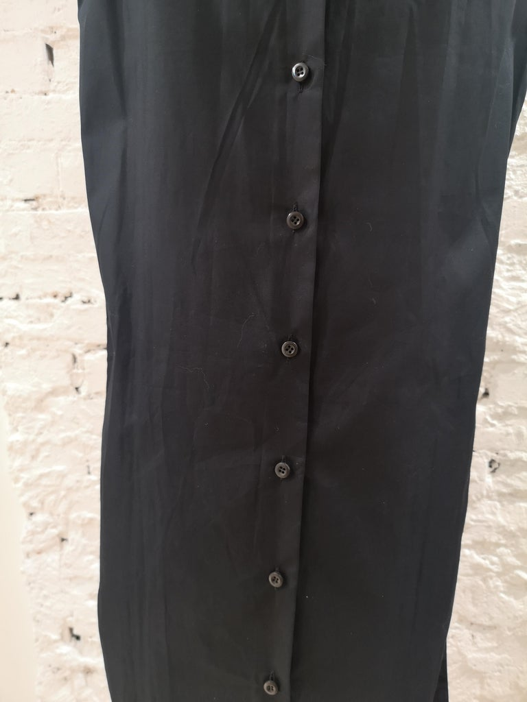 Prada Black Sangallo NWOT Dress For Sale 5