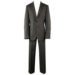 PRADA Black Suit - Mens Size US 42 / 52 Long Wool / Mohair