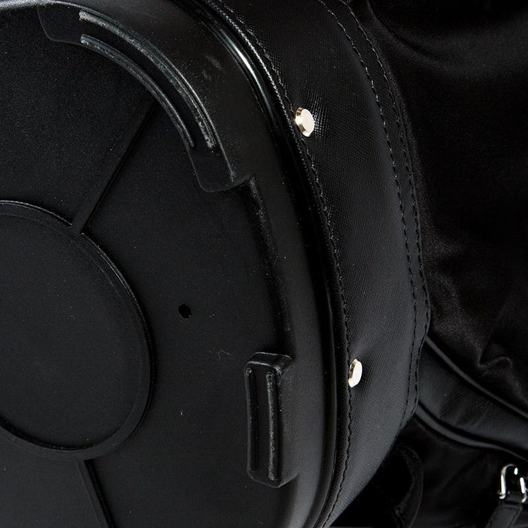 47d2c17b3cd3 Prada Black Tessuto and Saffiano Leather Golf Bag For Sale at 1stdibs