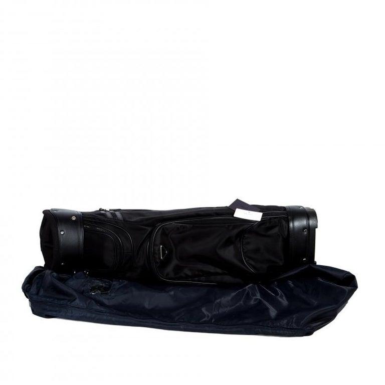 22a15205a821 Prada Black Tessuto and Saffiano Leather Golf Bag For Sale at 1stdibs